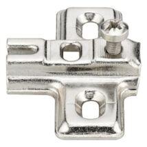 Kereszt szerelőlap mini kivetőpánthoz csavarozható 37/2 mm
