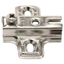 Kereszt szerelőlap rácsúsztatható technikával csavarozható faforgácslap csavarokkal -2 mm