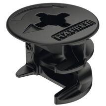 Minifix 15-ös ház fekete/19 mm