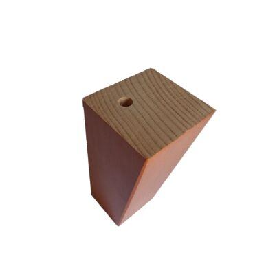 Asztalláb fa, 60/30*80, bükk cseresznye lakkozott