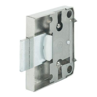 Felcsavarozható szekrényzár, tengelyméret 25 mm