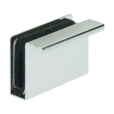 Üvegajtó fogantyú, ellendarab üvegajtó mágneszárhoz fekete fogantyúval