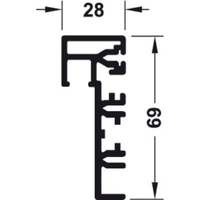 Alumínium keretprofil