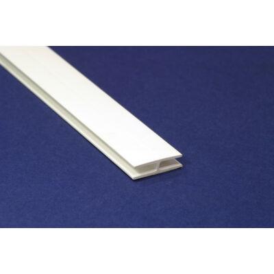 Hátlaptoldó profil fehér 2750 mm