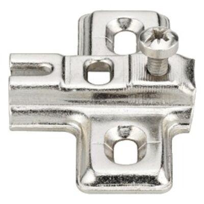 Kereszt szerelőlap mini kivetőpánthoz csavarozható