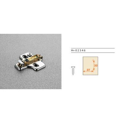 0-ás alátét 3D állítható