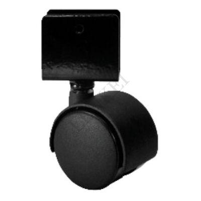 Bútorgörgő rögzítő nélkül, borítással, irányítható 40 mm