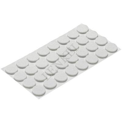 Bútorcsúszó filc 30 mm fehér