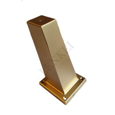 Műanyag láb 80*80*150 arany