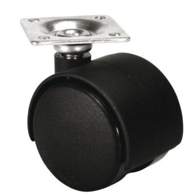 Bútorgörgő rögzítő nélkül, borítással, irányítható 50 mm